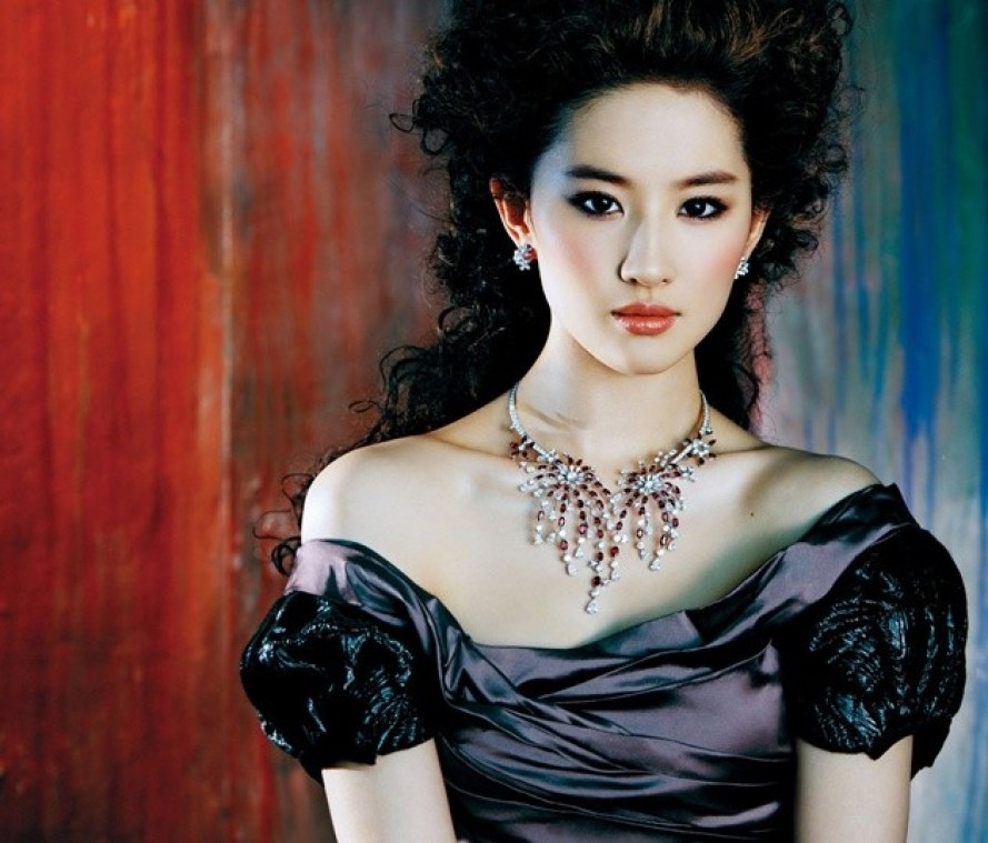 This is one of the most beautiful girl in China Liu Yifei