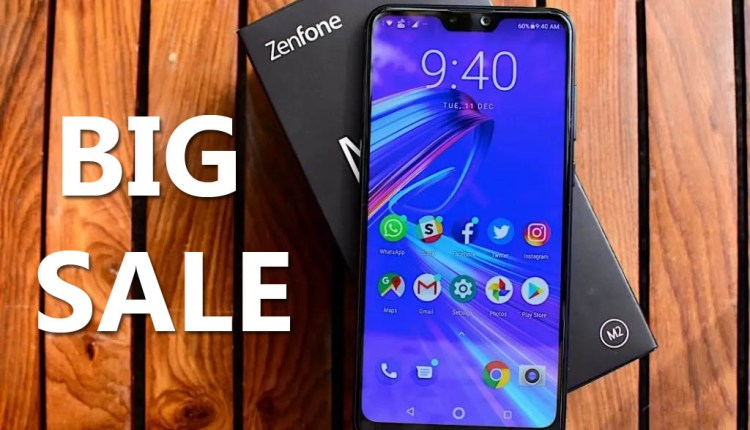 Filpart ONLINE SALE of this smartphone of Asus ZenFone Max Pro M2 today