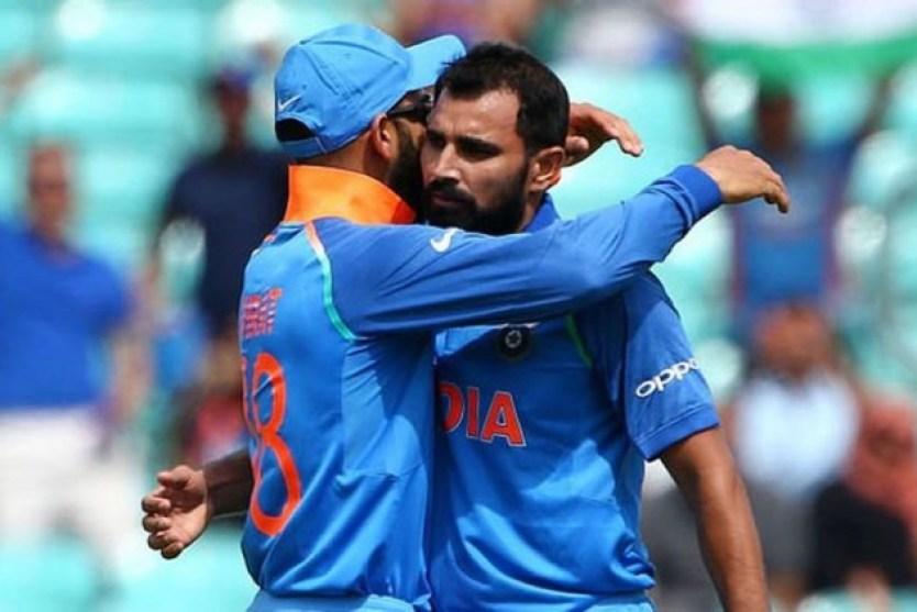 IND VS NZ CRICKET VIRAT KOHLI SHAMI TALK INDIA TEAM