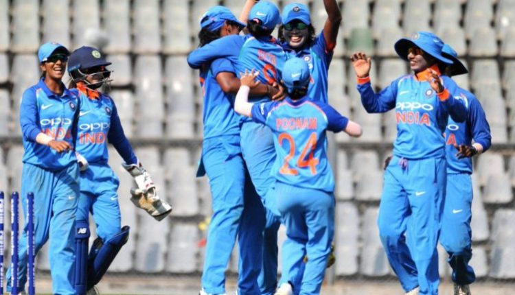 Indian women team beat England by 7 wickets