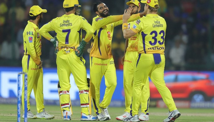 DC vs CSK Chennai's second consecutive win in IPL 2019 - The Delhi beat by 6 wickets (5)