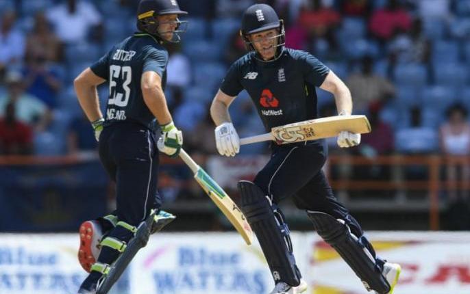 WIvsEng England won by 29 runs in fourth match SEE SCOREBOARD