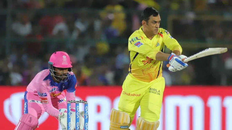 CSKvRR IPL2019 Chennai Super Kings win by 4 wickets on the Rajasthan Royals in the 25th match, Dhoni has another world record