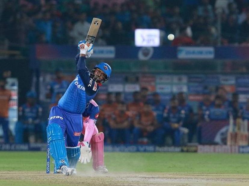 Delhi Capital has made Rajasthan Royals out of playoff, Tawi Rishabh Pant and Shikhar Dhawan