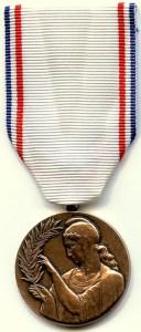Medaille de la reconnaissance francaise