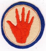 "372nd Regiment ""Red Hand"" Patch"