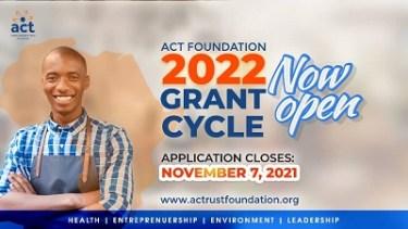 ACT Foundation Grant