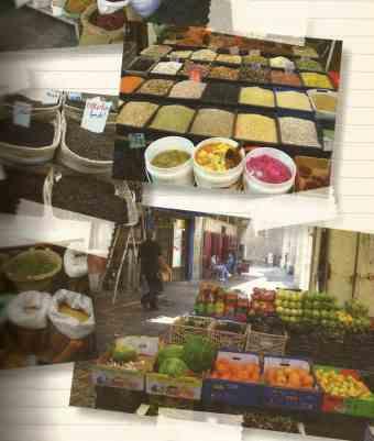 Rota do Oriente - Shuk (mercado)