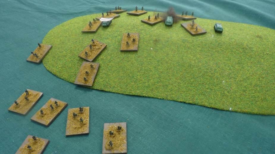 US marines overrun the Soviet positions