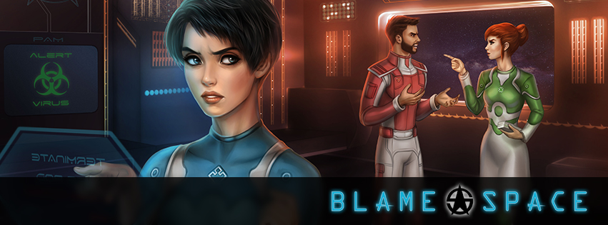 Blame Space Banner