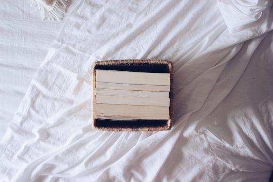 Minimal books.