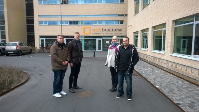 The Finnish team entering Cphbusiness' new campus