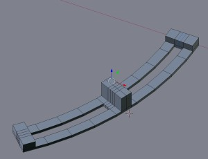 Arcs with edge loops
