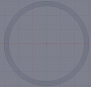 Four full circles