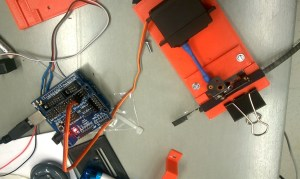 Arduino and gate with servo