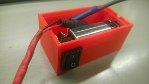 3D printed power source box
