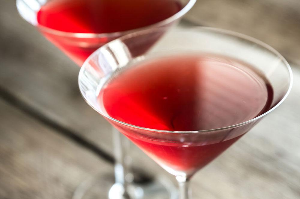 Cocktail à déguster au bar de l'hôtel Sacacomie.