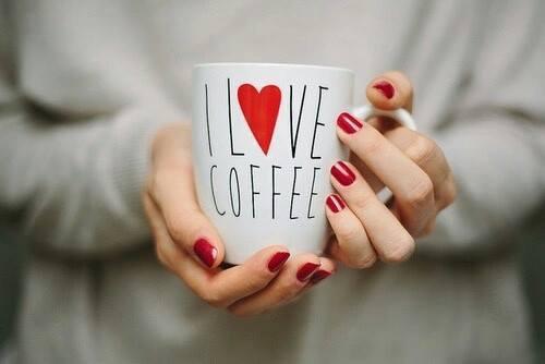 hands and coffee, coffee cup, i love coffee
