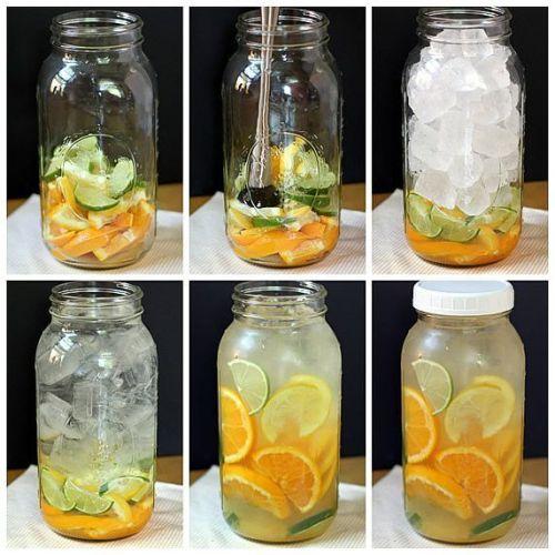 citrus water, orange grapefruit lemon water, detox water recipe