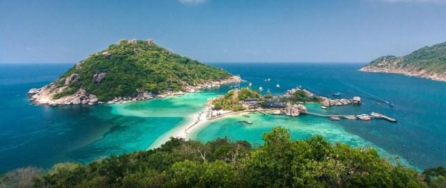 Koh Nang Yuan beach thailand