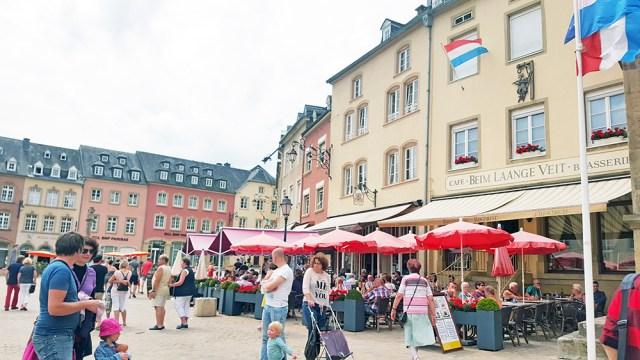 Echternach Luxembourg city centre -1-
