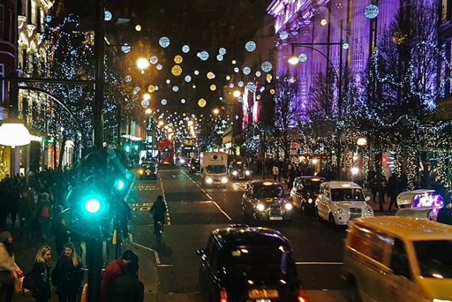 london christmas oxford street