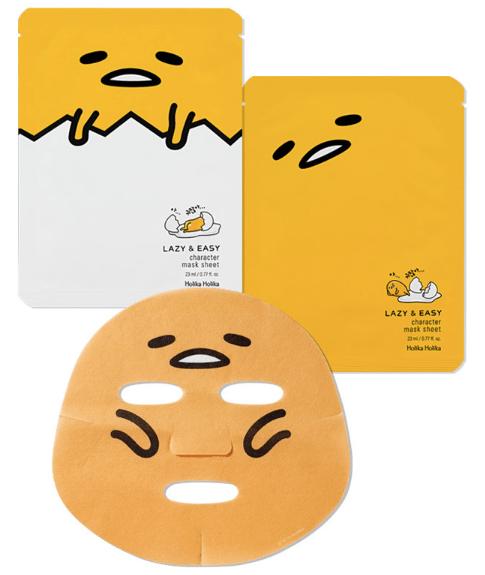 holika holika gudetama mask sheet