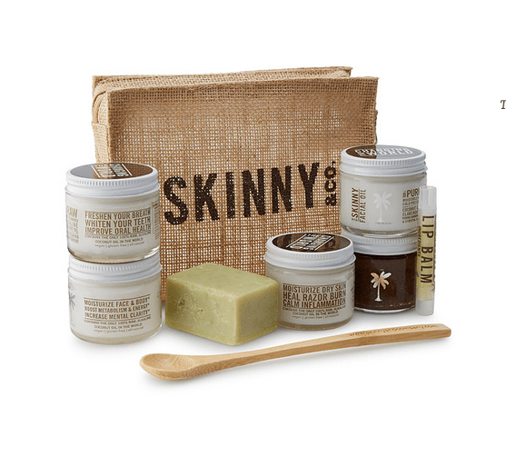 Coconut Beauty Travel Kit TSA Approved
