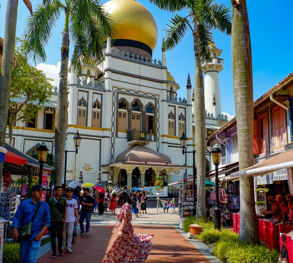 An afternoon in Kampong Glam in Singapore