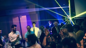 Anniversaire danse laser