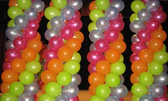 Ballons soirée disco