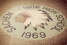 North hallway logo 1969