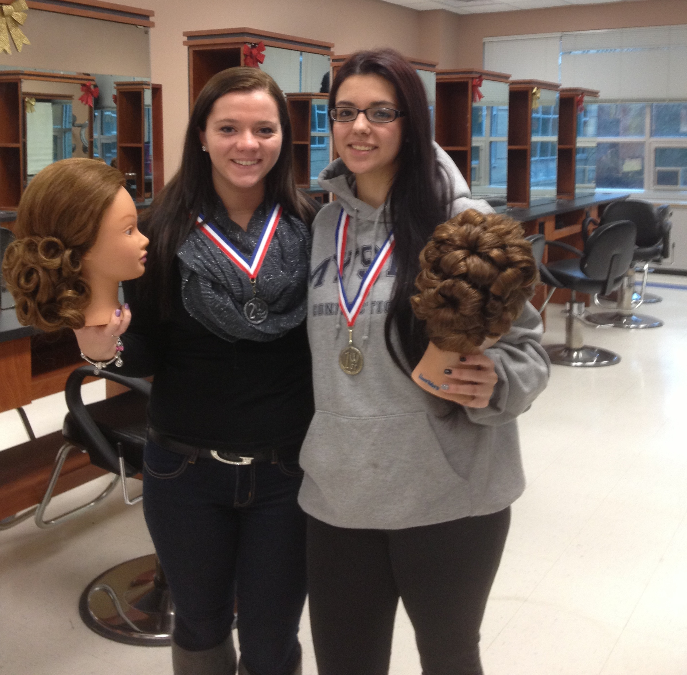 Cosmetology Students Place At Skillsusa Sachem Report