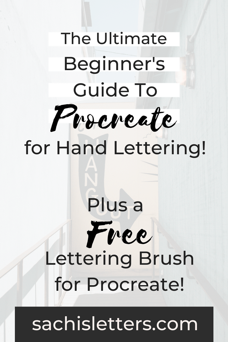 The Ultimate Guide to Navigating Procreate - Sachi's Letters