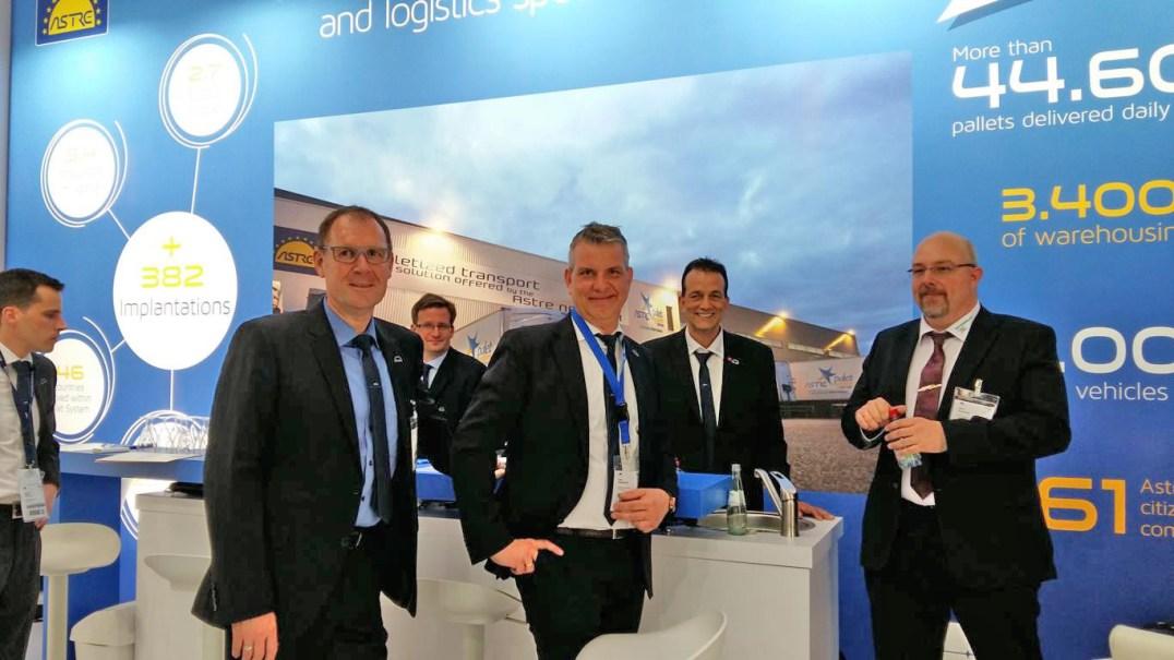 Sachsenland auf dem Stand der ASTRE auf der Transport & Logistik 2017 in München