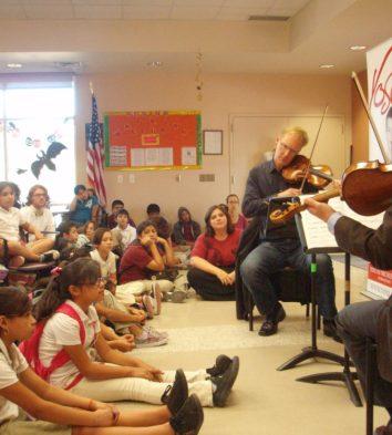 Aiana String Quartet Outreach Event | San Antonio Chamber Music Society