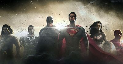 The Justice League Concept Art