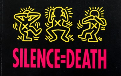 silence-equals-death-keith-haring-poster