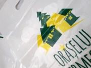 sacose personalizate banana cu tiraj mic LDPE