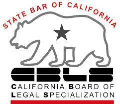 State Bar of California California Board of Legal Specialization. proves they are a specialist in their field