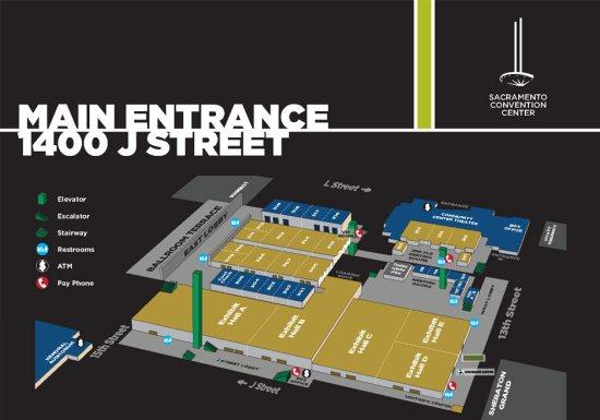 Minneapolis Convention Center Floor Plan: Sacramento Convention Center Seating Chart