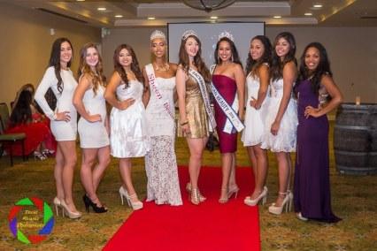 Miss Sacramento County Teen contestants