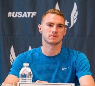 Clayton Murphy - Men's 800/1500m