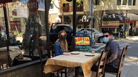 Midtown Dining 'Al Fresco' Style
