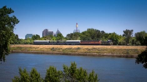 Weekend Excursion Train Rides Resume on the Sacramento Southern Railroad