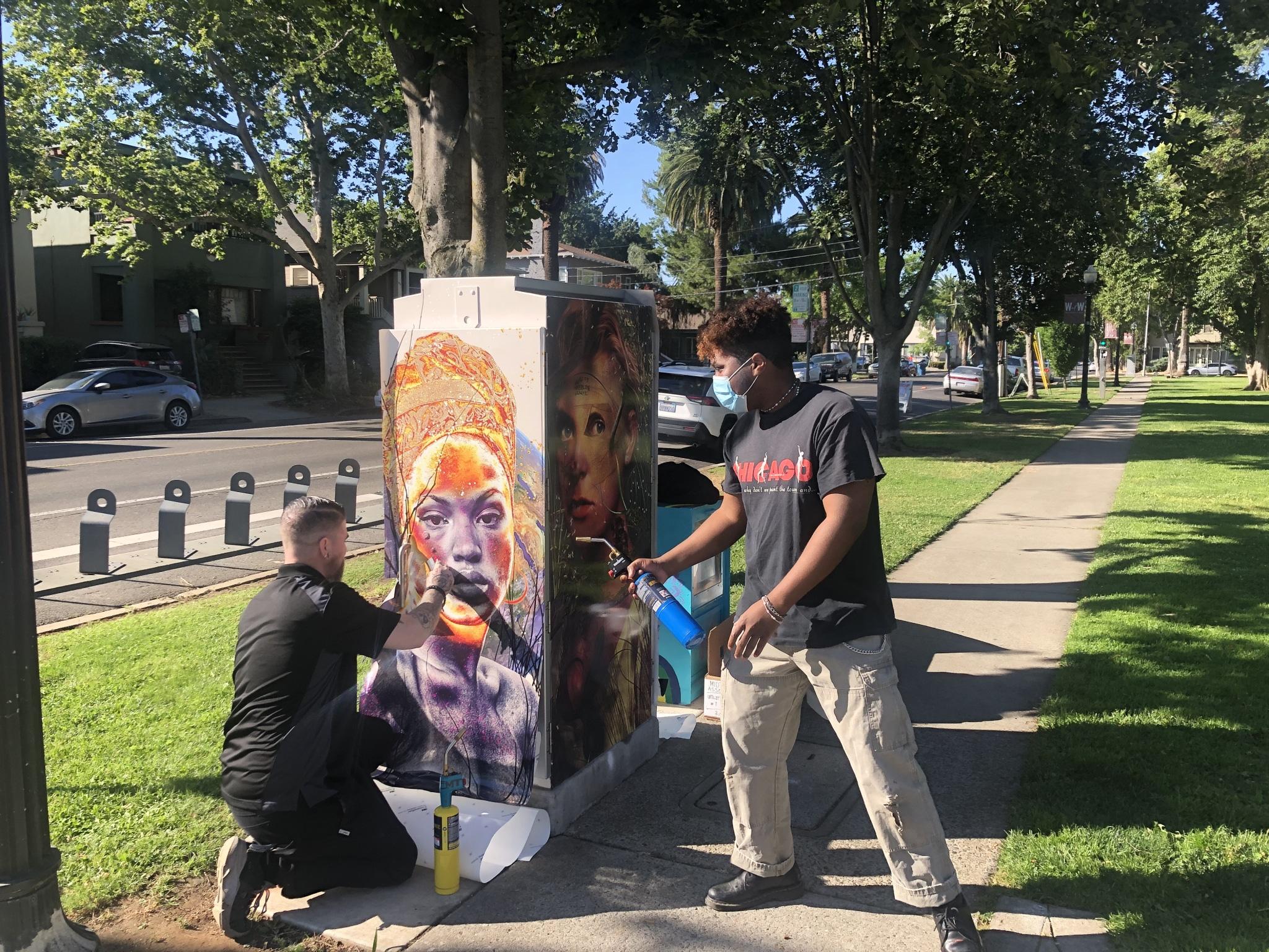 "Midtown Association Adds More ""Art in Unexpected Places,"" this Time at Winn Park via @sacramentopress"