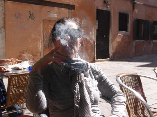 Manchmal hilft nur ein wenig Rauch.