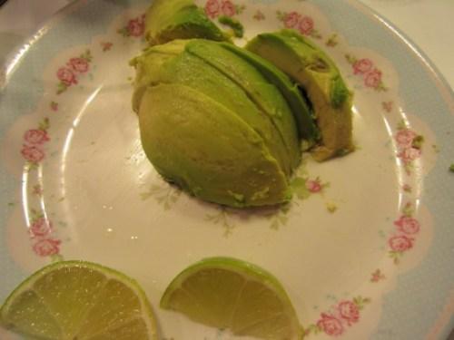 .. und mit Avocado & Limette