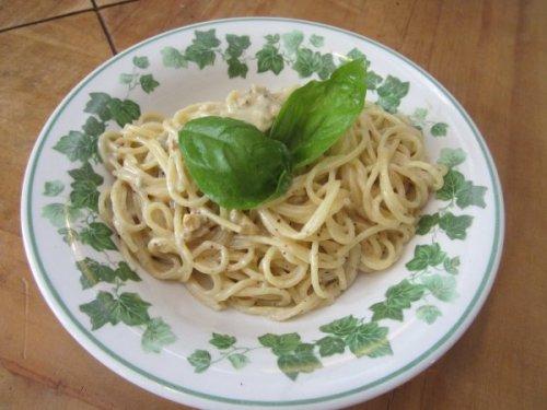 Tatata: unsere Gorgonzola-Pasta sieht gut aus und schmeckt gut!