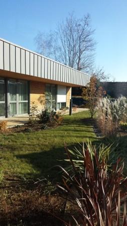 Jardin de la maison de retraite de Cherveux, Association du Sacré Coeur